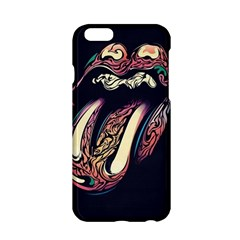 The Rolling Stones Glowing Apple Iphone 6/6s Hardshell Case by Brittlevirginclothing
