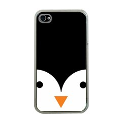 Cute Pinguin Apple Iphone 4 Case (clear)