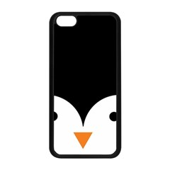 Cute Pinguin Apple Iphone 5c Seamless Case (black) by Brittlevirginclothing