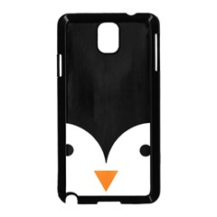 Cute Pinguin Samsung Galaxy Note 3 Neo Hardshell Case (black) by Brittlevirginclothing