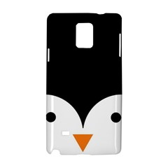 Cute Pinguin Samsung Galaxy Note 4 Hardshell Case by Brittlevirginclothing
