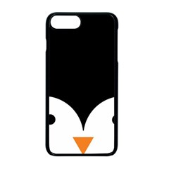 Cute Pinguin Apple Iphone 7 Plus Seamless Case (black) by Brittlevirginclothing
