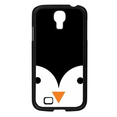 Cute Pinguin Samsung Galaxy S4 I9500/ I9505 Case (black) by Brittlevirginclothing