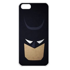 Batman Apple Iphone 5 Seamless Case (white) by Brittlevirginclothing