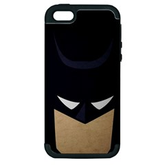 Batman Apple Iphone 5 Hardshell Case (pc+silicone) by Brittlevirginclothing