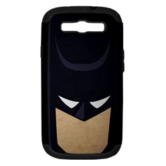 Batman Samsung Galaxy S Iii Hardshell Case (pc+silicone) by Brittlevirginclothing