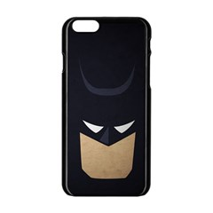 Batman Apple Iphone 6/6s Black Enamel Case by Brittlevirginclothing