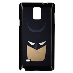 Batman Samsung Galaxy Note 4 Case (black) by Brittlevirginclothing