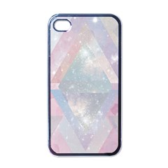 Pastel Colored Crystal Apple Iphone 4 Case (black)