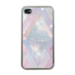 Pastel Colored Crystal Apple Iphone 4 Case (clear)