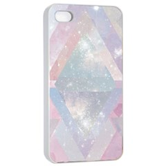Pastel Colored Crystal Apple Iphone 4/4s Seamless Case (white)
