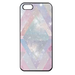 Pastel Colored Crystal Apple Iphone 5 Seamless Case (black) by Brittlevirginclothing
