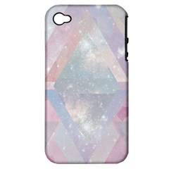 Pastel Colored Crystal Apple Iphone 4/4s Hardshell Case (pc+silicone) by Brittlevirginclothing