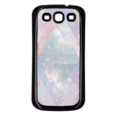 Pastel Colored Crystal Samsung Galaxy S3 Back Case (black)