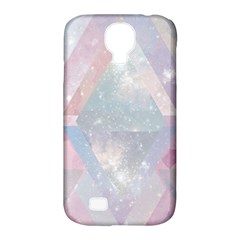 Pastel Colored Crystal Samsung Galaxy S4 Classic Hardshell Case (pc+silicone) by Brittlevirginclothing
