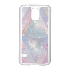 Pastel Colored Crystal Samsung Galaxy S5 Case (white)