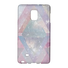 Pastel Colored Crystal Galaxy Note Edge by Brittlevirginclothing