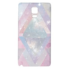 Pastel Colored Crystal Galaxy Note 4 Back Case by Brittlevirginclothing