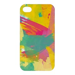 Paint Brush Apple Iphone 4/4s Premium Hardshell Case by Brittlevirginclothing