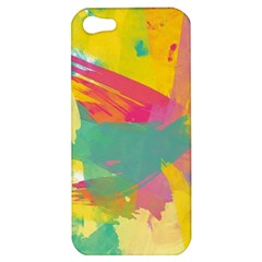 Paint Brush Apple Iphone 5 Hardshell Case by Brittlevirginclothing