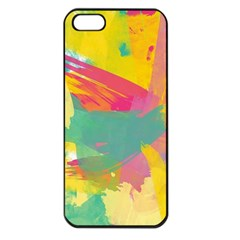 Paint Brush Apple Iphone 5 Seamless Case (black)
