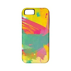 Paint Brush Apple Iphone 5 Classic Hardshell Case (pc+silicone) by Brittlevirginclothing