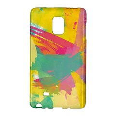 Paint Brush Galaxy Note Edge by Brittlevirginclothing