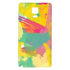 Paint Brush Galaxy Note 4 Back Case by Brittlevirginclothing