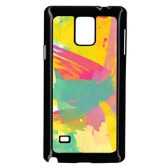 Paint Brush Samsung Galaxy Note 4 Case (black) by Brittlevirginclothing