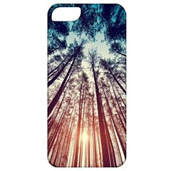 Up View Forest Apple Iphone 5 Classic Hardshell Case by Brittlevirginclothing