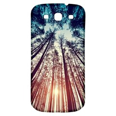 Up View Forest Samsung Galaxy S3 S Iii Classic Hardshell Back Case by Brittlevirginclothing