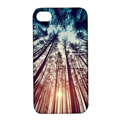 Up View Forest Apple Iphone 4/4s Hardshell Case With Stand by Brittlevirginclothing