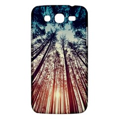 Up View Forest Samsung Galaxy Mega 5 8 I9152 Hardshell Case  by Brittlevirginclothing