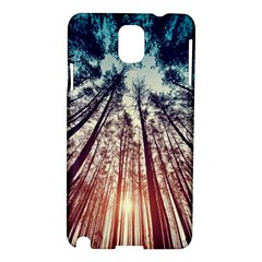 Up View Forest Samsung Galaxy Note 3 N9005 Hardshell Case by Brittlevirginclothing