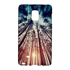 Up View Forest Galaxy Note Edge by Brittlevirginclothing