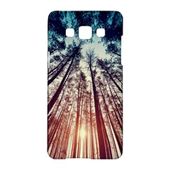 Up View Forest Samsung Galaxy A5 Hardshell Case  by Brittlevirginclothing
