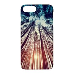 Up View Forest Apple Iphone 7 Plus Hardshell Case by Brittlevirginclothing