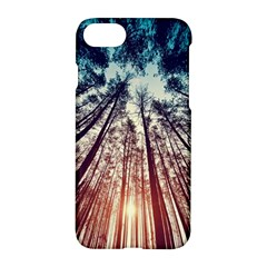 Up View Forest Apple Iphone 7 Hardshell Case