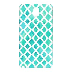 Blue Mosaic  Samsung Galaxy Note 3 N9005 Hardshell Back Case