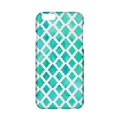 Blue Mosaic  Apple Iphone 6/6s Hardshell Case by Brittlevirginclothing