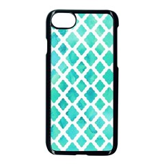 Blue Mosaic  Apple Iphone 7 Seamless Case (black) by Brittlevirginclothing
