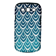 Blue Fish Sclaes  Samsung Galaxy S Iii Classic Hardshell Case (pc+silicone)