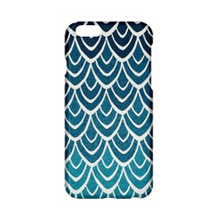 Blue Fish Sclaes  Apple Iphone 6/6s Hardshell Case by Brittlevirginclothing
