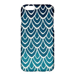 Blue Fish Sclaes  Apple Iphone 6 Plus/6s Plus Hardshell Case by Brittlevirginclothing