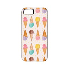 Cute Ice Cream Apple Iphone 5 Classic Hardshell Case (pc+silicone)