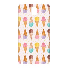 Cute Ice Cream Samsung Galaxy Note 3 N9005 Hardshell Back Case by Brittlevirginclothing