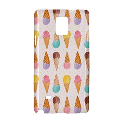 Cute Ice Cream Samsung Galaxy Note 4 Hardshell Case by Brittlevirginclothing
