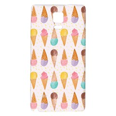 Cute Ice Cream Galaxy Note 4 Back Case by Brittlevirginclothing
