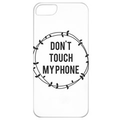 Don t Touch My Phone Apple Iphone 5 Classic Hardshell Case by Brittlevirginclothing