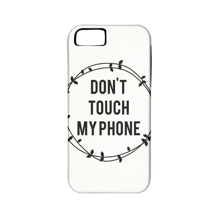 Don t touch my phone Apple iPhone 5 Classic Hardshell Case (PC+Silicone)